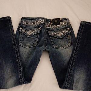 NWOT MISS ME girls skinny jeans
